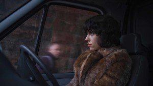 Under the Skin (2013) Directed by Jonathan Glazer Shown: Scarlett Johansson