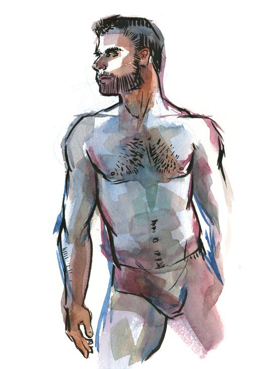 Frank Paints Dudes