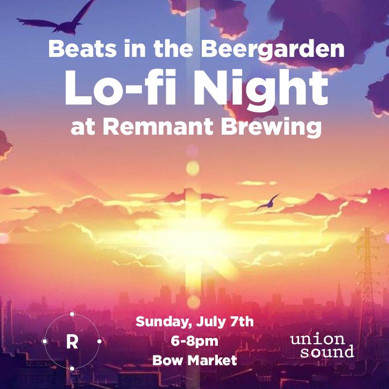 Beats in the Beergarden: Lo-fi Night   BOSTON HASSLE