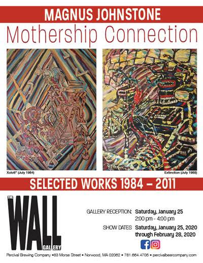 MAGNUS JOHNSTONE – MOTHERSHIP CONNECTION: SELECTED WORKS 1984-2011 AT THE WALL GALLERY