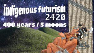 NAICOB Indigenous Futurism banner