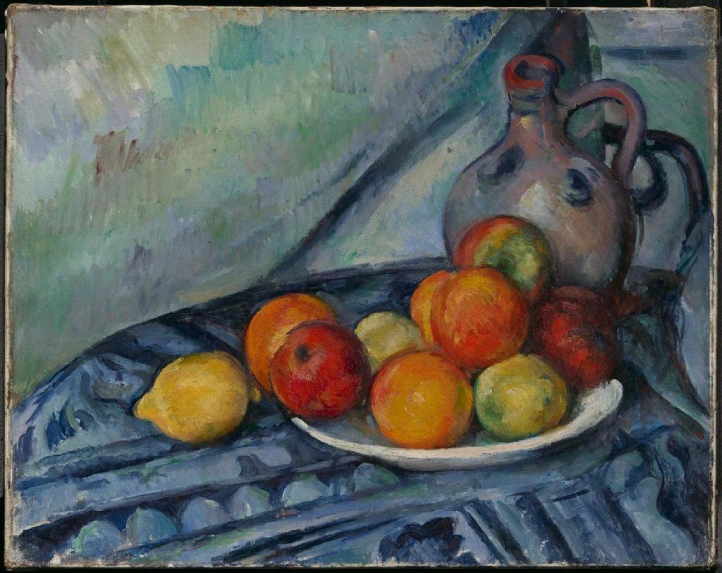Paul Cezanne Fruit and a Jug