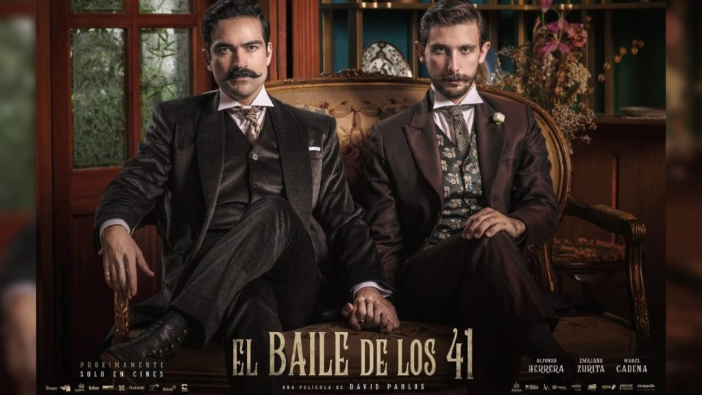 Alfonso Herrera and Emiliano Zurita in the film Dance of the 41.